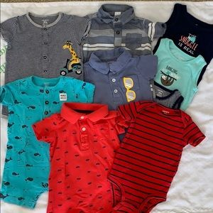 Carter's 12 Month Baby Boy Set (9 pieces)